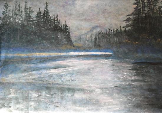 Rain Water by John Fish