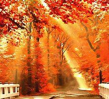 Golden Autumn by Art Dream Studio