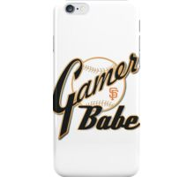 SF Giants Gamer Babe iPhone Case/Skin
