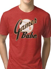 SF Giants Gamer Babe Tri-blend T-Shirt