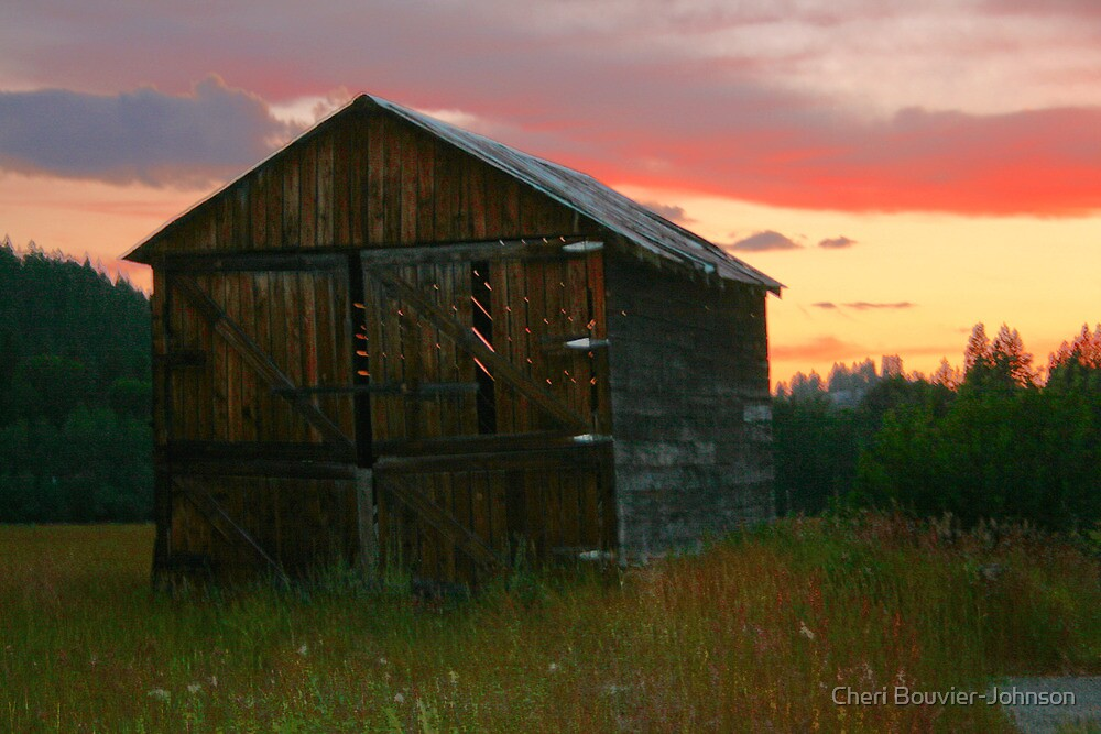 Rustic Sunset by Cheri Bouvier-Johnson