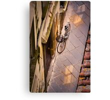 The Lucca Bike Canvas Print