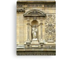 Detail of the Ministry of Education In Paris Canvas Print