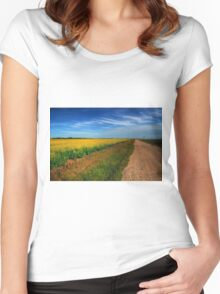 Canola Country Women's Fitted Scoop T-Shirt