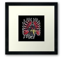 Blackwinged Dragon Icon - Yugioh! Framed Print