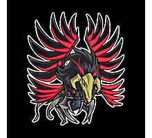 Blackwinged Dragon Icon - Yugioh! Photographic Print