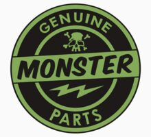 Genuine Monster Parts Shirt by TheScrambler