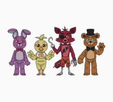 Five Nights at Freddy's Day Version  by TheRaspberryFox