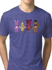 Five Nights at Freddy's Day Version  Tri-blend T-Shirt