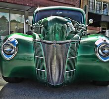 Mean Green Machine by Kathy Yates