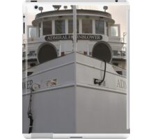 Admiral Hornblower Stands Tall iPad Case/Skin