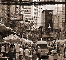 Crowded Street by Jerry Mrima