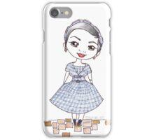 Vintage Gal ~ Nora Finds iPhone Case/Skin