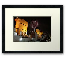 Queen Mary Fireworks 2 Framed Print