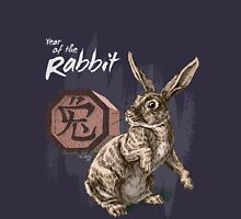 Year of the Rabbit by Stephanie Smith (for dark shirts) Unisex T-Shirt