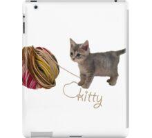 kitty iPad Case/Skin