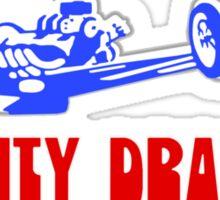 Tri-City Dragway shirt Sticker