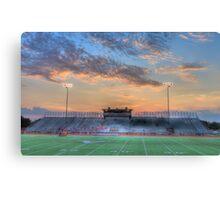 Twilight Football Canvas Print