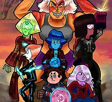 Avengems Assemble by lilprincefinn