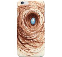 Nesting - original watercolor painting iPhone Case/Skin