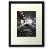 Up Stair Framed Print