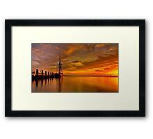 """Enterprize Dawn"" Framed Print"