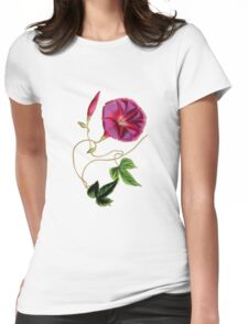 Flower..... Womens Fitted T-Shirt