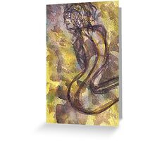 Snake (Figure) Greeting Card
