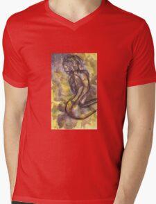 Snake (Figure) Mens V-Neck T-Shirt