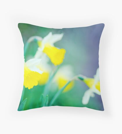 more daffodils... Throw Pillow