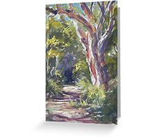 Lake Innes Nature Reserve - paint out Greeting Card
