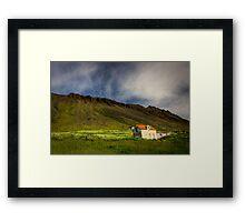 Isafjordur landscape Framed Print