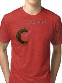 Chrono Trigger - Time Travel Dial Tri-blend T-Shirt