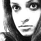 Tired eyes...  by Bumchkin