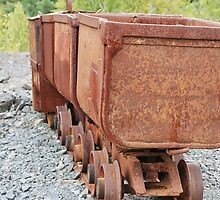 Mine Cart Madness by deb cole