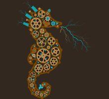 Steampunk Seahorse Unisex T-Shirt