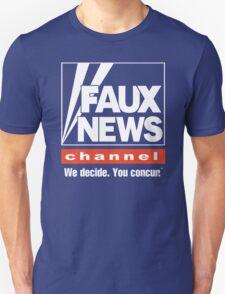 Faux News Channel Unisex T-Shirt