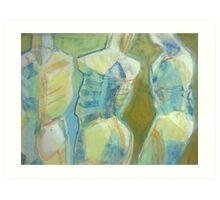 Torsos Art Print