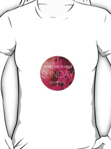morrissey- everyday is like sunday 4 T-Shirt