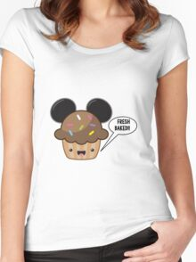 Fresh Baked Muffin Women's Fitted Scoop T-Shirt