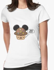 Fresh Baked Muffin Womens Fitted T-Shirt