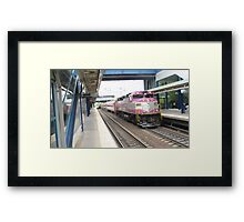 1116 MBTA Commuter Rail Framed Print