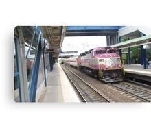 1116 MBTA Commuter Rail Canvas Print