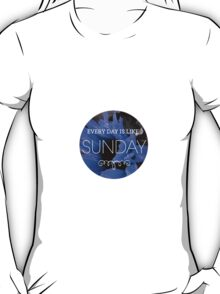 morrissey - everyday is like sunday 2 T-Shirt