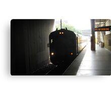 MBTA Commuter Rail Canvas Print