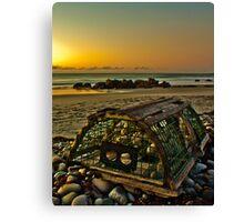 Beach Trap Canvas Print