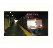 1061 MBTA Commuter Rail Art Print