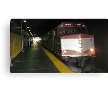 1061 MBTA Commuter Rail Canvas Print