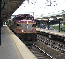 1118 MBTA Commuter Rail by Eric Sanford