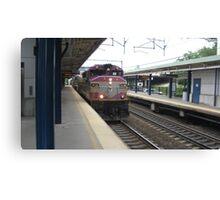 1118 MBTA Commuter Rail Canvas Print